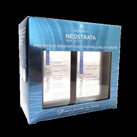 Pack Neostrata cellular restoration crema 50g + crema reafirmante cuello y escote 810g 436098