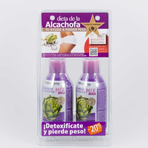 Arkofluido alcachofa mix 280ml – Pack 2 uds 530240