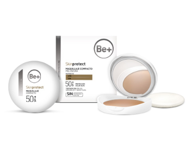 Be+ Skin Protect Maquillaje compacto piel oscura spf50+ 10g 190304