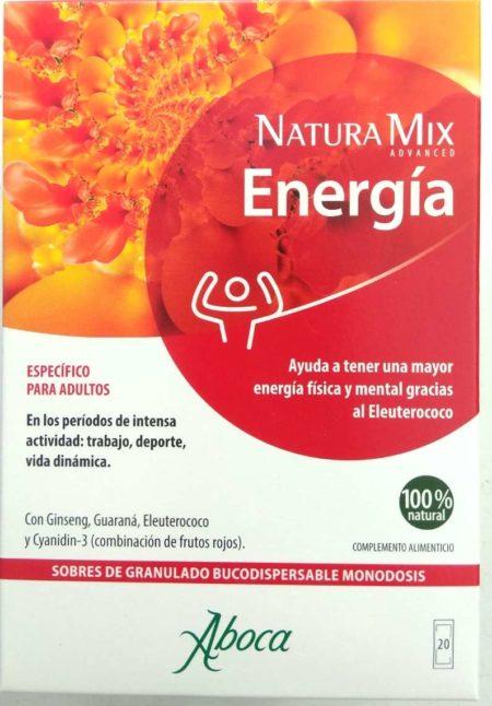 Natura Mix Energia 20 sobres bucodispersable Aboca 196423