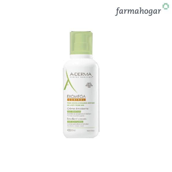 A-Derma – Exomega Control Crema Emoliente 400ml 170675