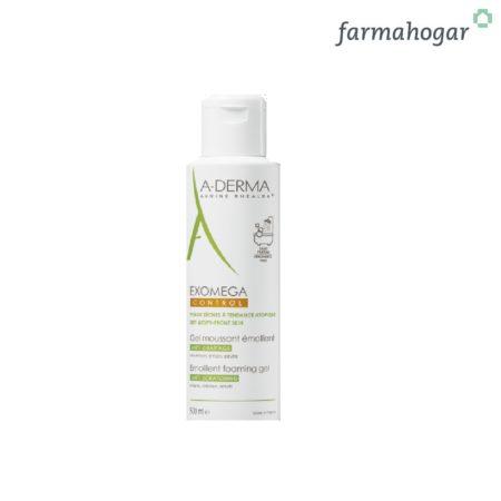 A-Derma - Exomega Control Gel Limpiador Emoliente 500ml 164334