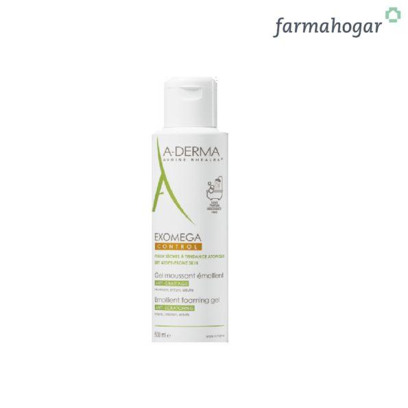 A-Derma – Exomega Control Gel Limpiador Emoliente 500ml 164334