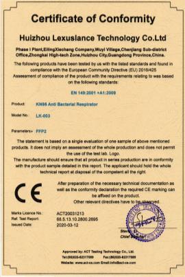 Pack 2 Mascarillas FFP2 con válvula PM 2.5 581