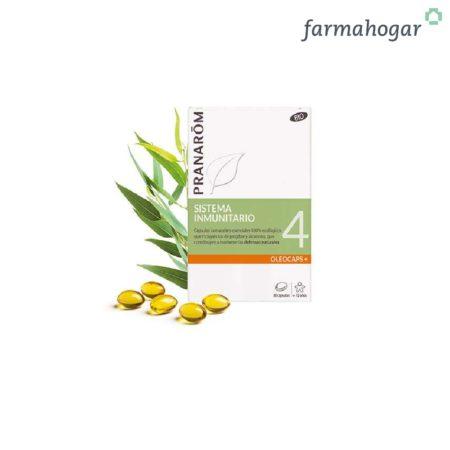 Pranarom - Oleocaps+ 4 Sistema inmunitario 30 caps 179906