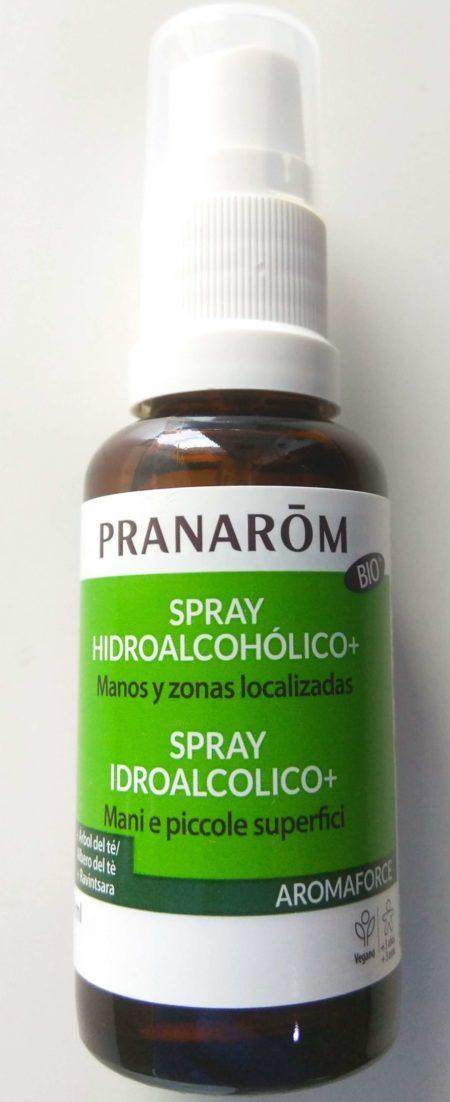 Spray Hidroalcohólico manos y zonas localizadas Pranarom 30ml 593