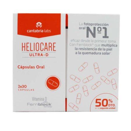 Heliocare Ultra - D cápsulas Pack duplo cantabria 548