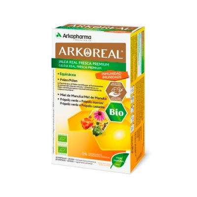 Arkoreal Jalea real fresca premium 20 ampollas 194295