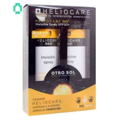 Spray invisible Heliocare 360 Duplo 223