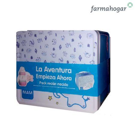 Pack Recién Nacido Chupete + Biberón Azul Mam Baby 533