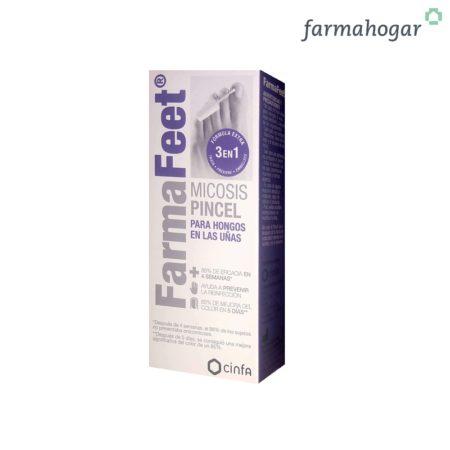Pincel Hongos Micosis para uñas Fórmula 3 en 1 4ml Farmalastic Feet 195608