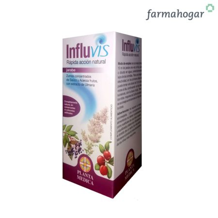 Jarabe Fisiológico Acción natural 120 g Influvis 172763