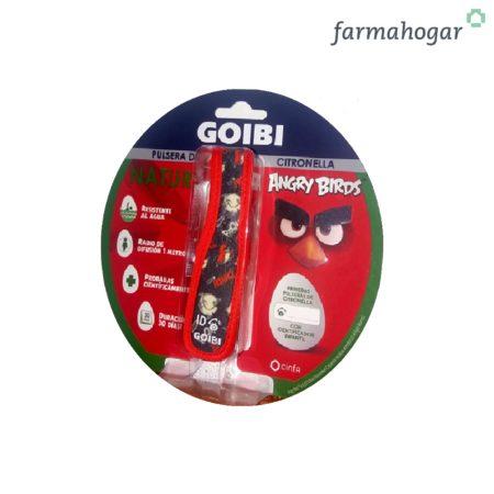 Pulsera Anti-mosquitos Angry Birds Goibi 190100