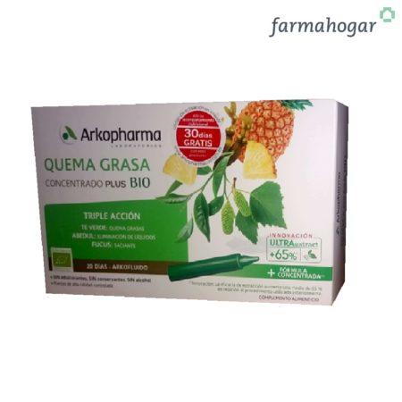 Complemento Alimenticio Quemagrasa 20 U Arkopharma 187792