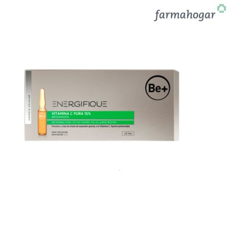 Be+ Energifique Ampollas Vitamina C 10U x 2ml