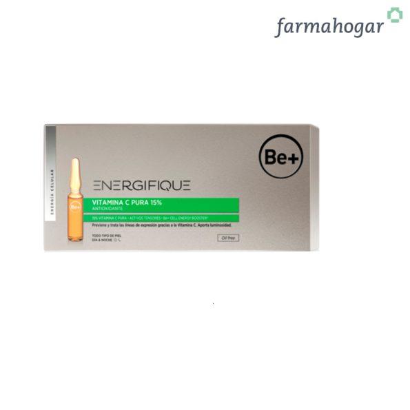 Be+ Energifique Ampollas Vitamina C 10U x 2ml