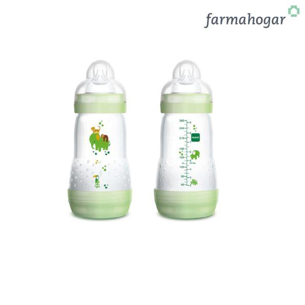 Biberón Easy Start 2+ meses Verde Mam Baby