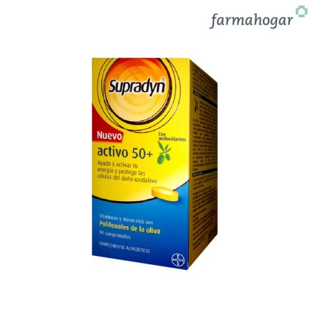 Complemento Alimenticio Activo 50+ 90U Supradyn 192193