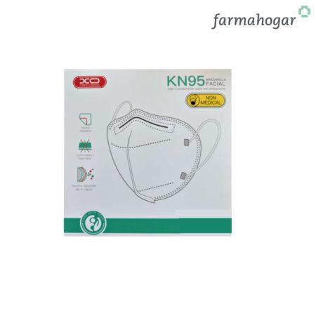 KN95 Mascarilla Protectora FFP2 5 Unidades