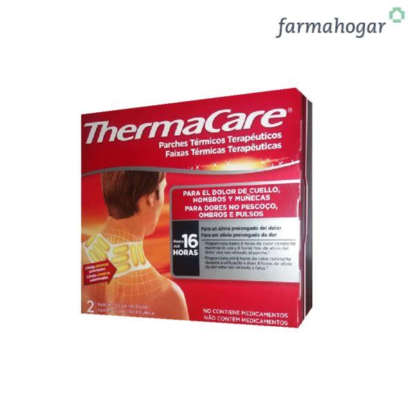 Parches térmicos terapéuticos Cuello Hombros y Muñecas 2U Thermacare 159364