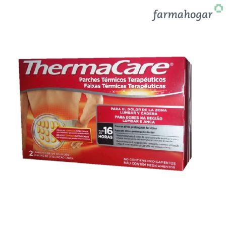 Parches térmicos terapéuticos Zona Lumbar y Cadera 2U Thermacare 159363