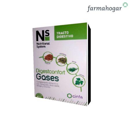 Digestconfort Gases 60 comprimidos Ns 185133