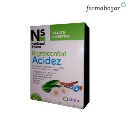 Digestconfort Acidez 30 comprimidos Ns 189154