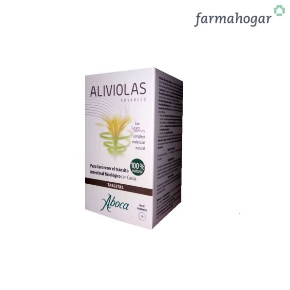 Aliviolas Advanced Tránsito Intestinal 90 U Aboca 193353