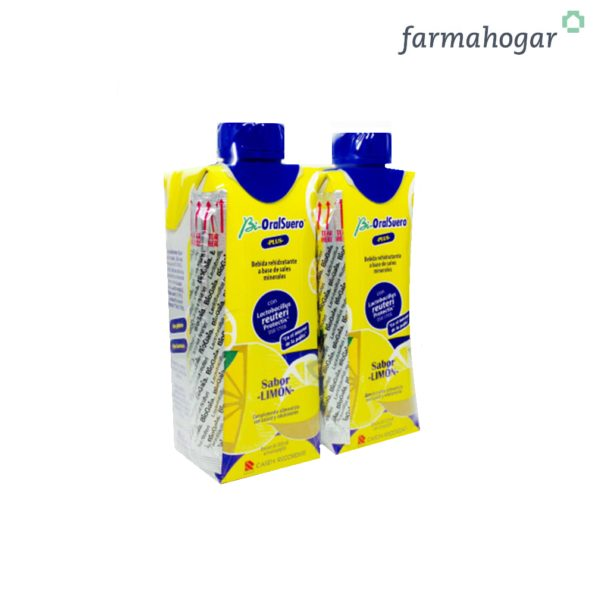 Bebida Rehidratante sabor limón 660 ML Bi-OralSuero 183444