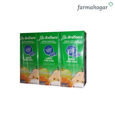 Bebida Rehidratante Sabor Frutas 600ml Bi-OralSuero 159100