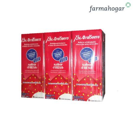 Bebida Rehidratante Sabor fresa 600ml Bi-OralSuero 399204