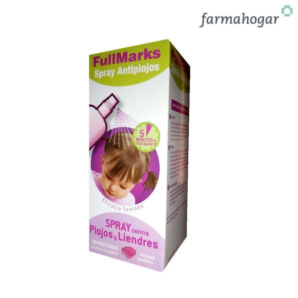 Spray Antipiojos Antiliendres 150ml FullMarks 175776