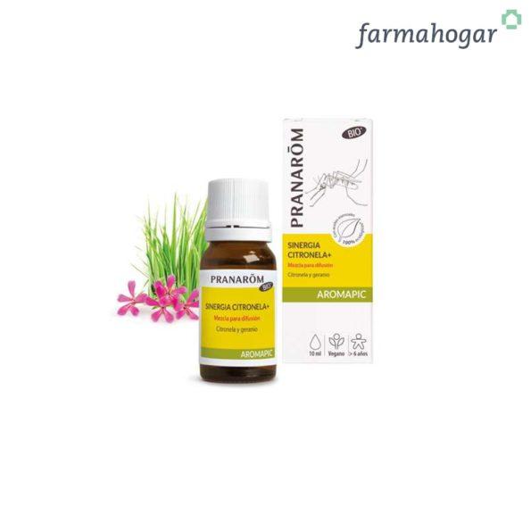Sinergia citronela+ Mezcla para difusión 30 ml Pranarom