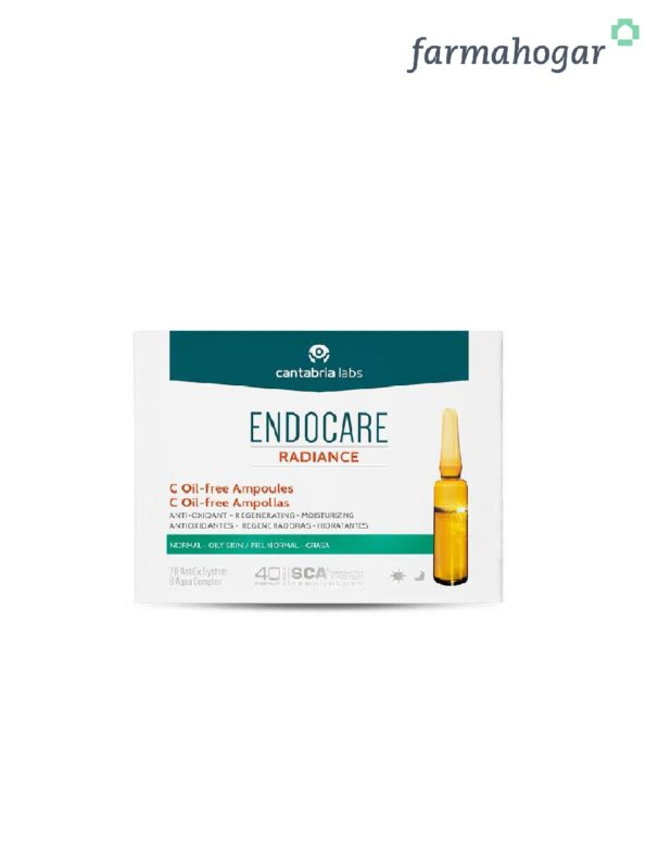 Endocare Radiance C Oil-free 10 ampollas 199409