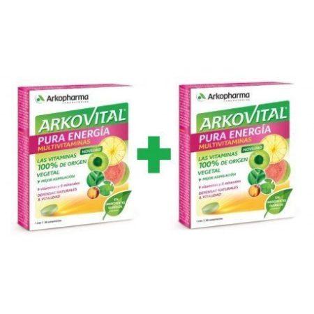 Arkovital Pura Energía Multivitaminico 30 comprimidos x2